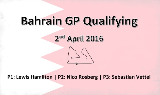Bahrain GP Qualy