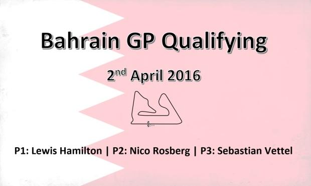 Bahrain GP Qualy